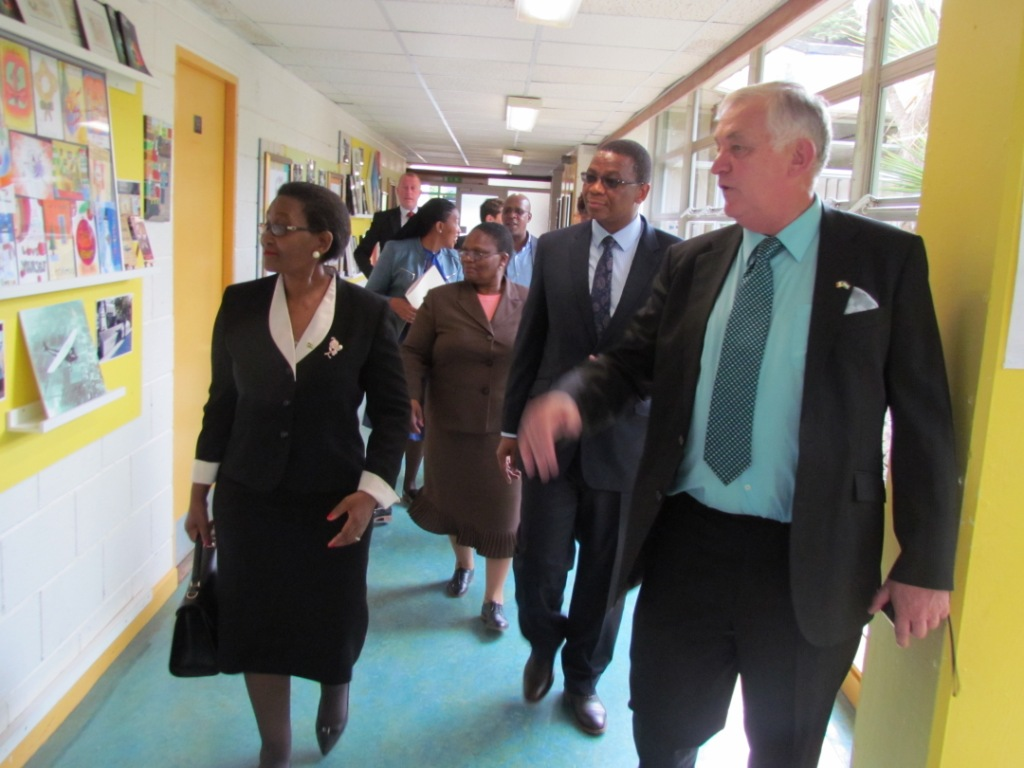 Visit to Portmarnock Community School 14